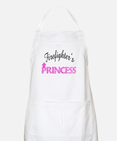 Firefighters's Princess BBQ Apron