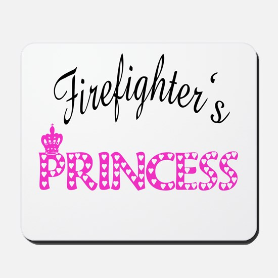 Firefighters's Princess Mousepad