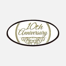 10th Anniversary Patches