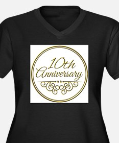 10th Anniversary Plus Size T-Shirt