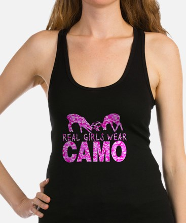 GIRL DEER HUNTER Racerback Tank Top