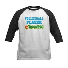 Volleyball Player (in training) Baseball Jersey