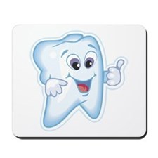 Friendly Tooth Mousepad