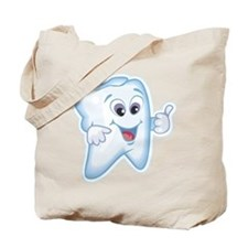 Friendly Tooth Tote Bag