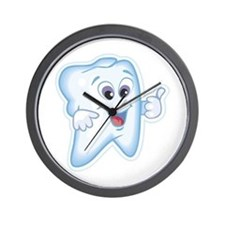 Friendly Tooth Wall Clock