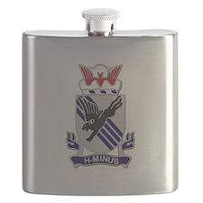 DUI - 1st Bn - 505th Parachute Infantry Regt Flask