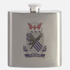 DUI - 1st Bn - 505th Parachute Infantry Regt Flask