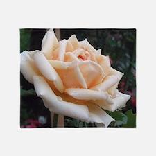 toronto peach rose  Throw Blanket