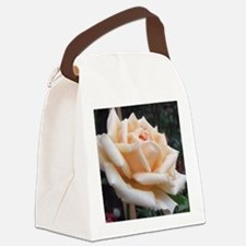 toronto peach rose  Canvas Lunch Bag