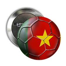 "Cameroon Football 2.25"" Button"