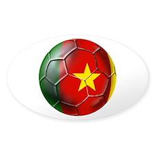 Cameroon Football Decal