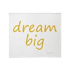 dream big Throw Blanket