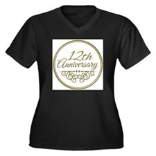 12th Anniversary Plus Size T-Shirt