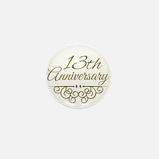 13th Anniversary Mini Button