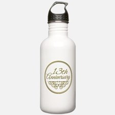 13th Anniversary Water Bottle