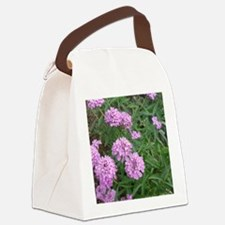 purple love Canvas Lunch Bag