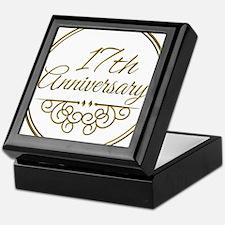 17th Anniversary Keepsake Box
