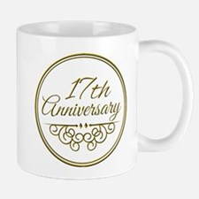 17th Anniversary Mugs