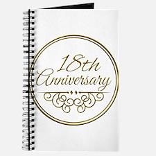 18th Anniversary Journal