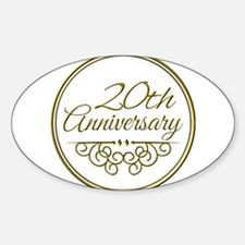 20th Anniversary Decal