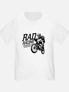 Retro RAD BMX Racing Ash Grey T-Shirt