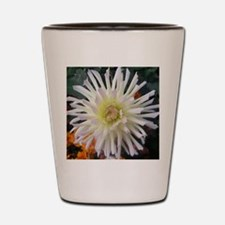 white beauty Shot Glass