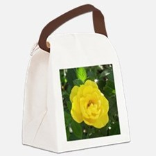 yellow rose Canvas Lunch Bag