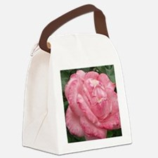 delicate rose Canvas Lunch Bag