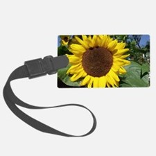 sunflower awake Luggage Tag