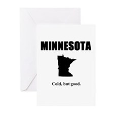 minnesotacold.JPG Greeting Cards