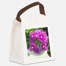 little purple bouquet Canvas Lunch Bag