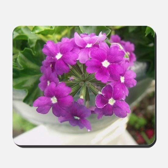 little purple bouquet Mousepad