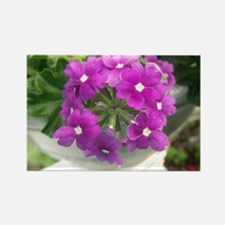 little purple bouquet Rectangle Magnet