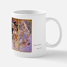 Four Seasons by Alfons Mucha Mug
