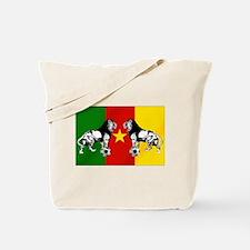 Cameroon Football Flag Tote Bag