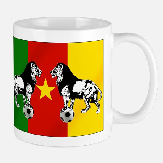 Cameroon Football Flag Mug