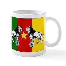 Cameroon Football Flag Mug