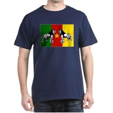 Cameroon Football Flag T-Shirt