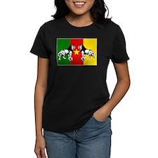 Cameroon Football Flag Tee