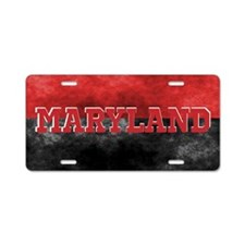 Maryland Aluminum License Plate