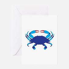 Crab Greeting Cards