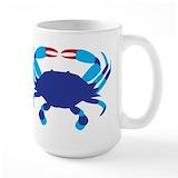 Crab Large Mugs (15 oz)