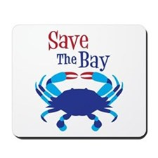 Save The Bay Mousepad