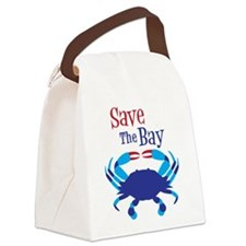 Save The Bay Canvas Lunch Bag