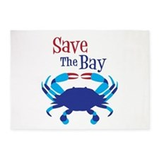 Save The Bay 5'x7'Area Rug