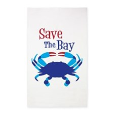 Save The Bay 3'x5' Area Rug