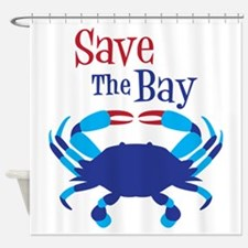 Save The Bay Shower Curtain