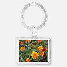 Orange Delight Landscape Keychain