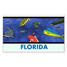 Florida Fish Tank Decal