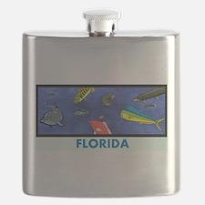 Florida Fish Tank Flask